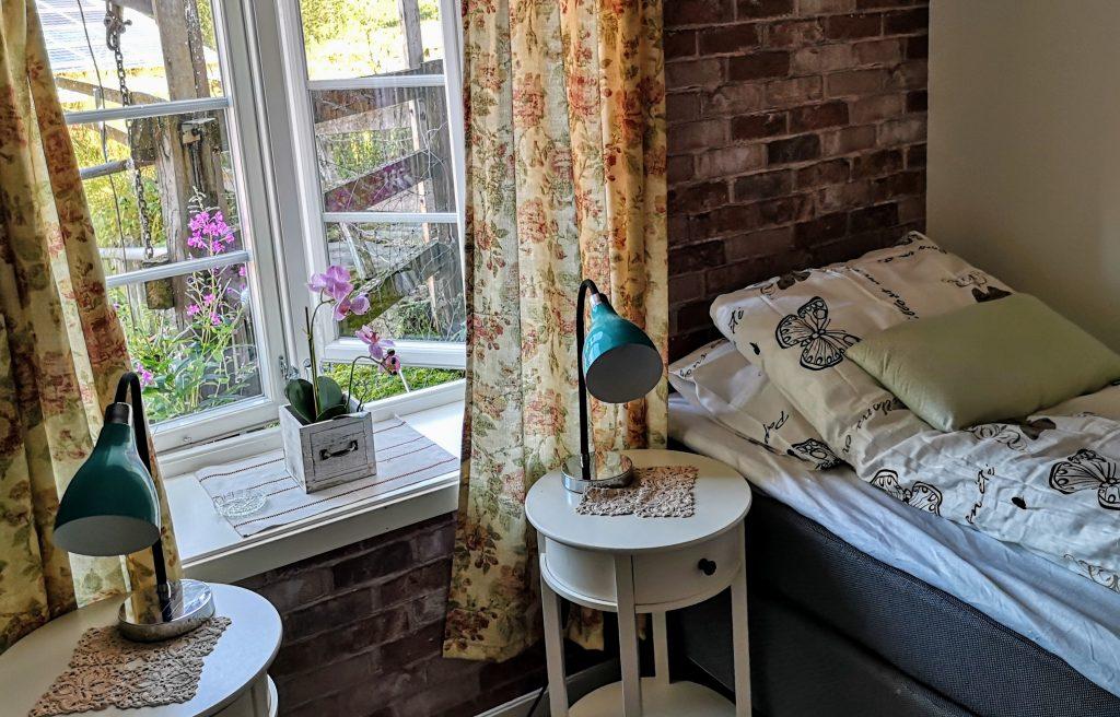My bedroom at Munkeby Herberge