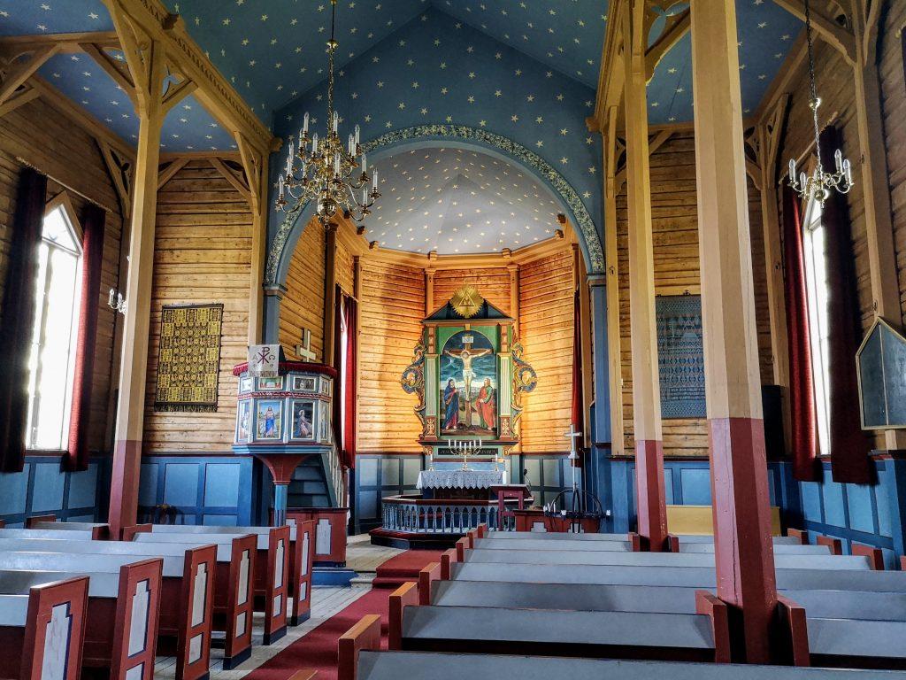 Church of Markabygda - St olavsleden