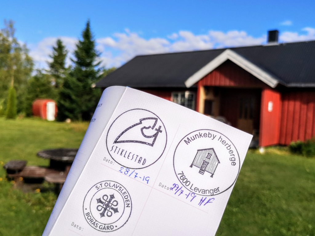 Pilgrim path St Olavsleden @ Boras