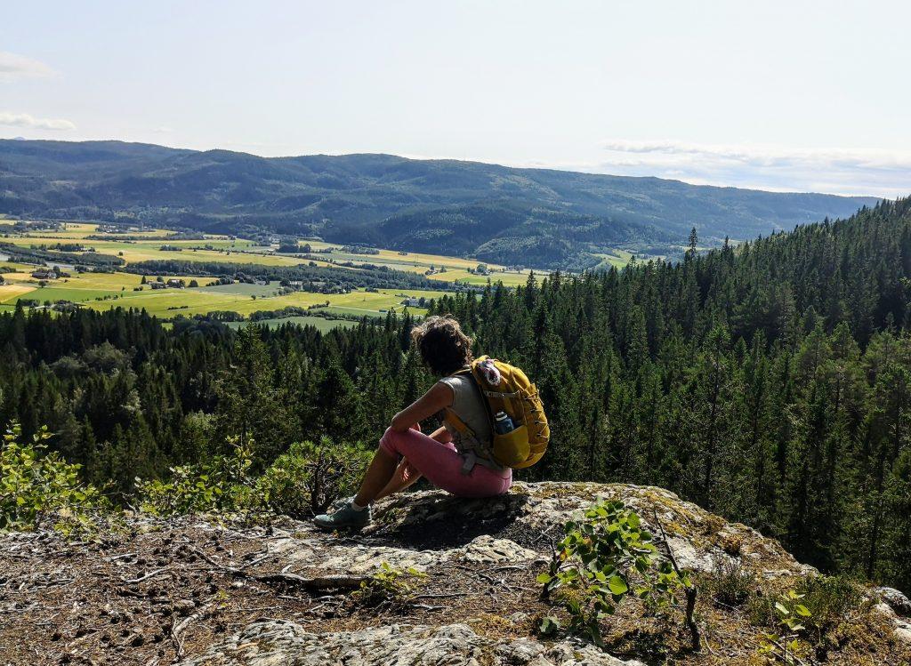 Enjoying my time as a pilgrim in Norway