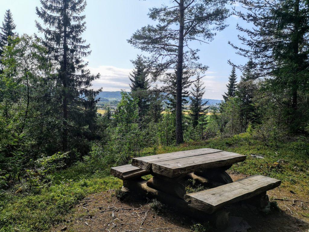 sitting area on the st olavspad