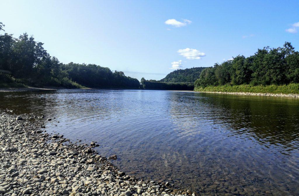 Stjordalselva - River near Ersgard