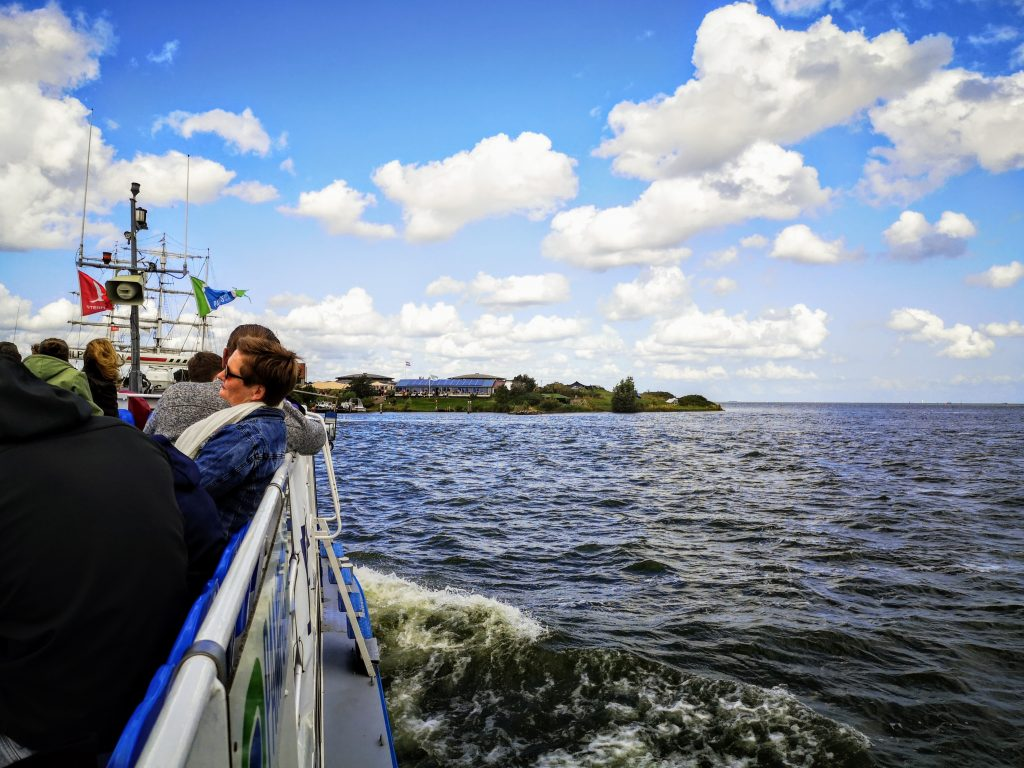 Ferry Muiden - Fort island Pampus