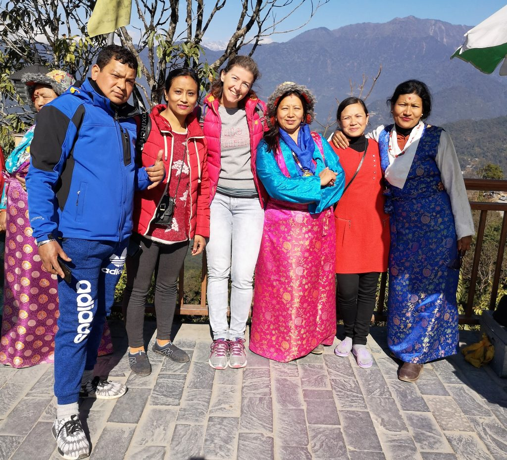 Tourists in Sikkim asked for a picture with me