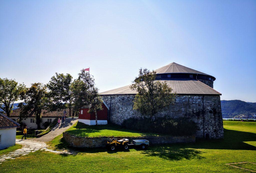 Munkholmen Fort - Trondheim, Noorwegen