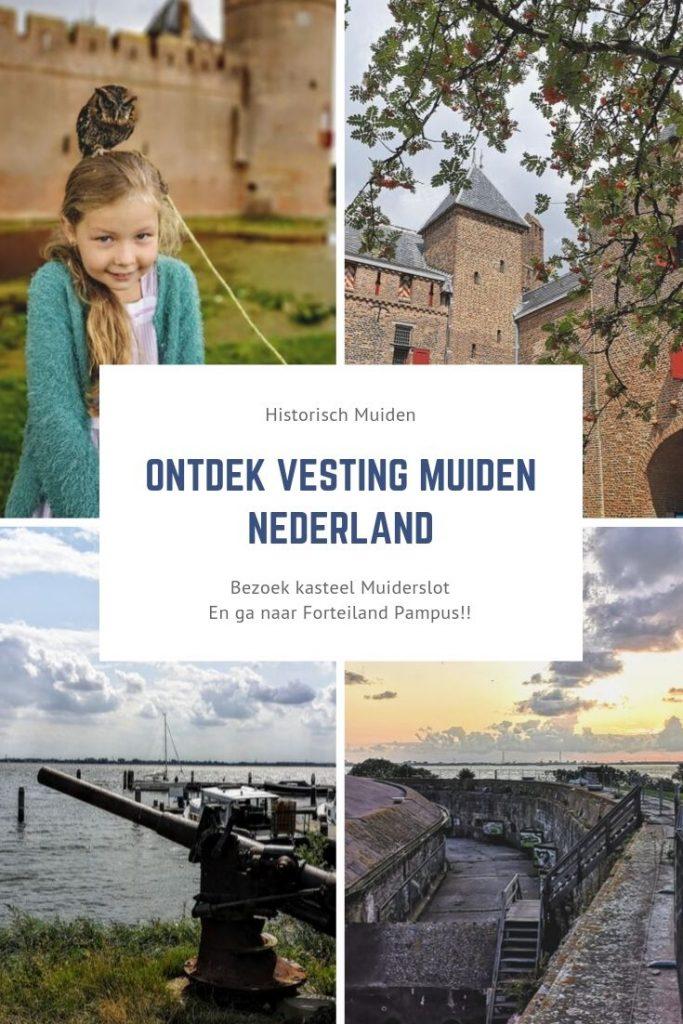 Ontdek vesting Muiden Nederland