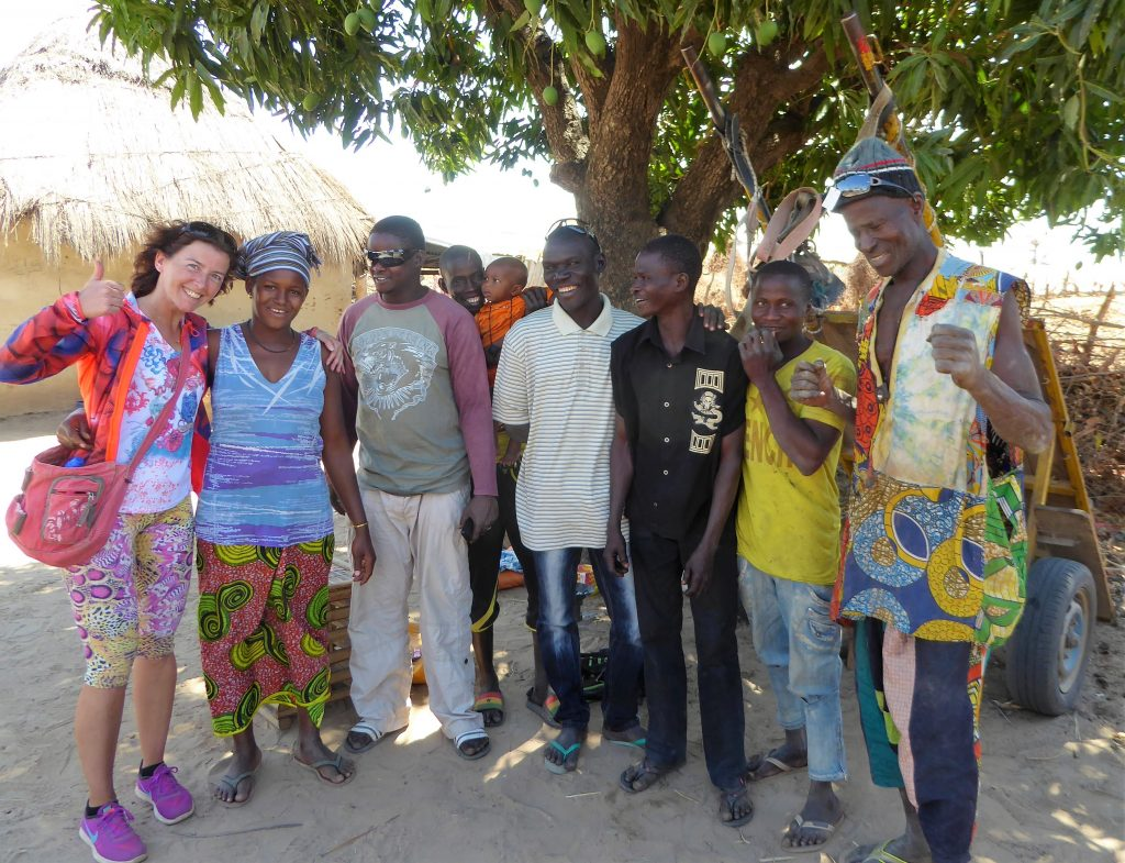 Locals in The Gambia - Safe Contact with Locals