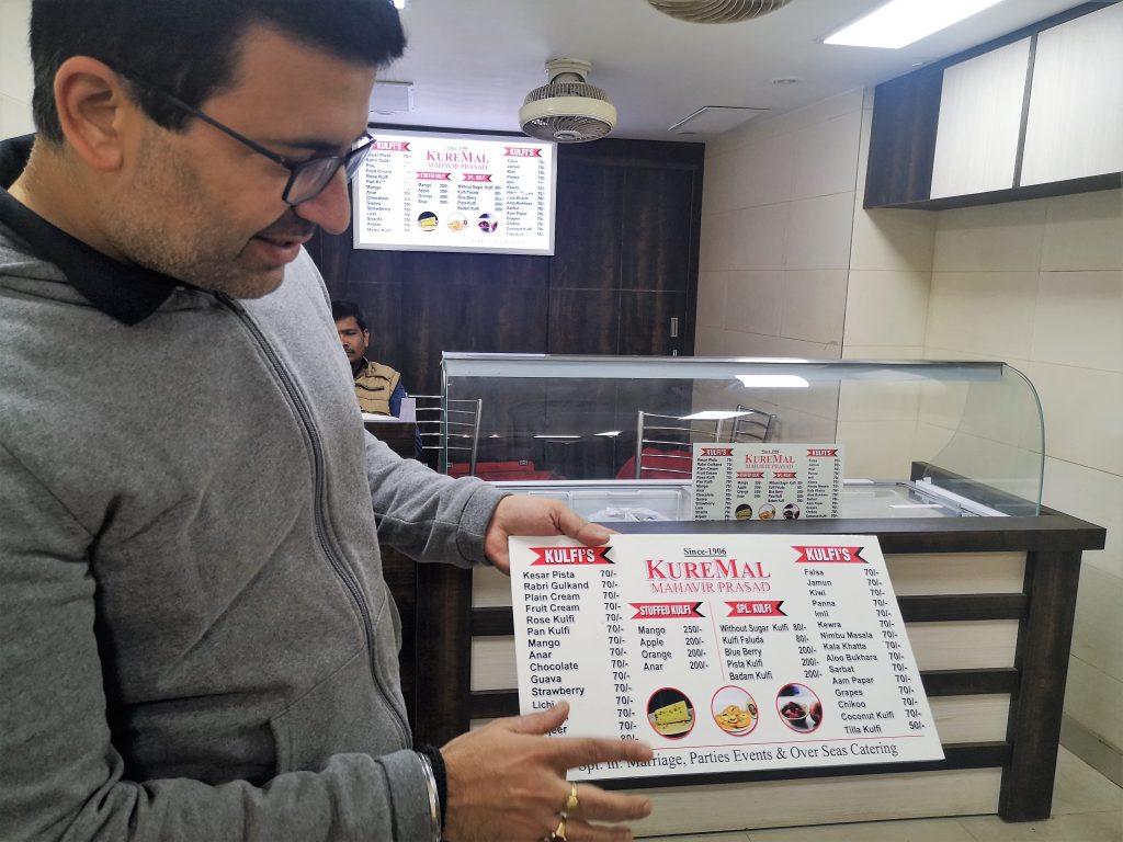 Delhi Food Walk - Chandni Chowk, New Delhi - Kulvi