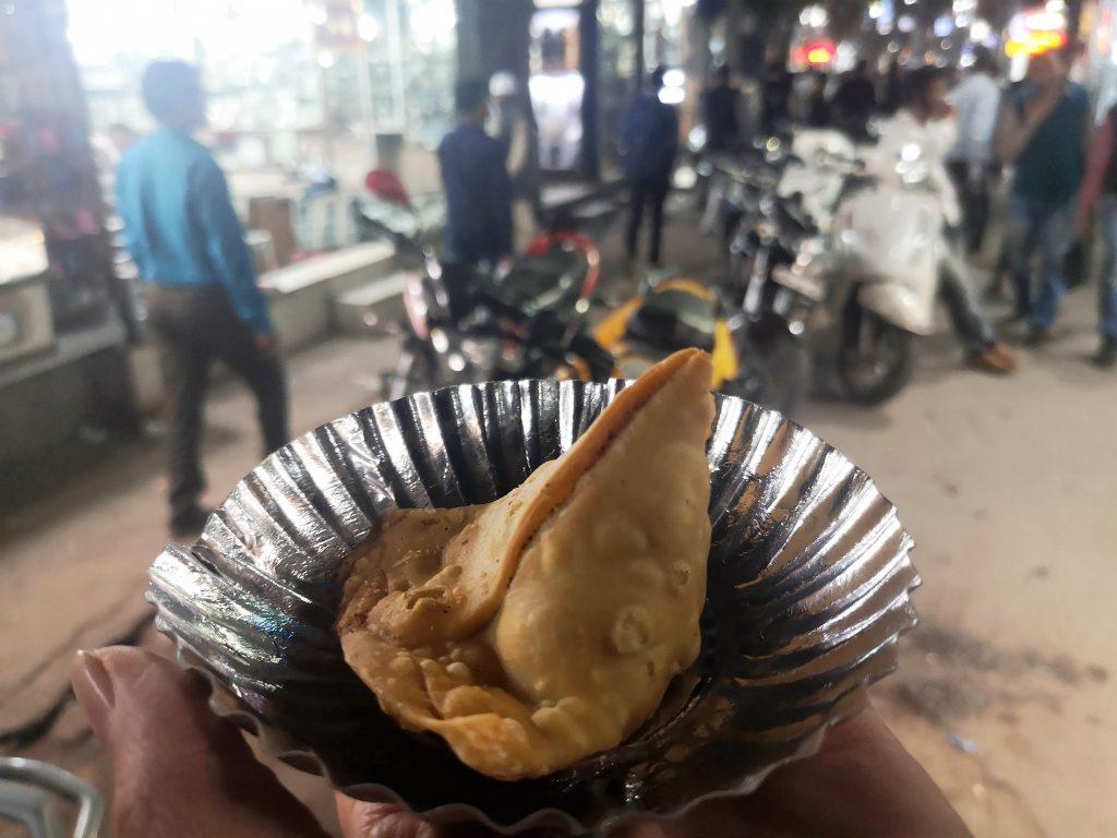 Delhi Food Walk - Chandni Chowk, New Delhi - Samosa