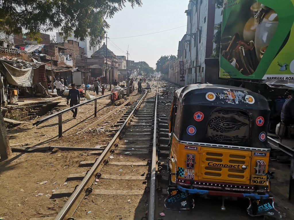 Treinspoor Mathura