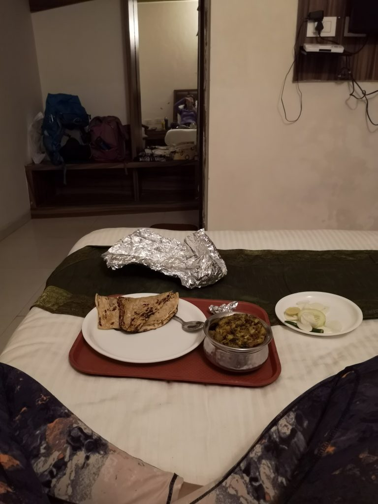Diner in OYO hotel