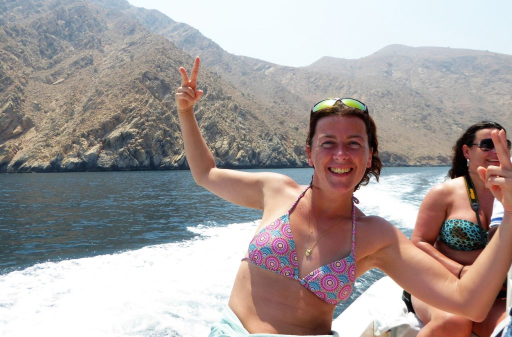 Snorkling in Oman, daytrip from Fujairah