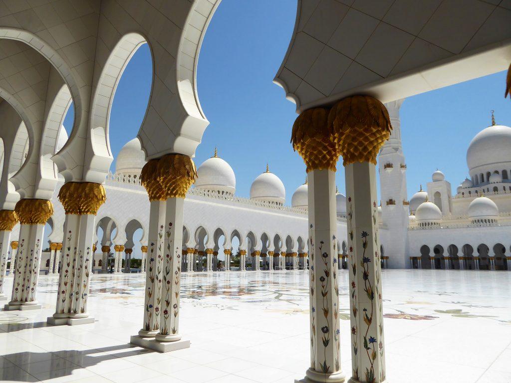 Sheik Zayed Moskee - Abu Dhabi