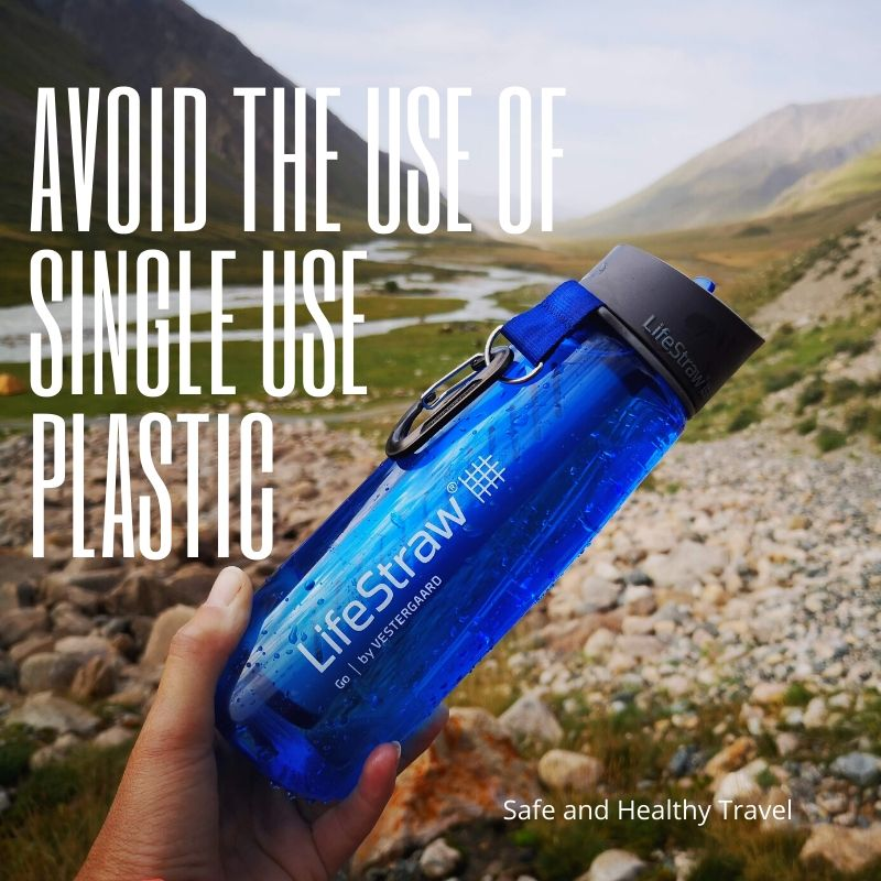 Avoid using one use plastic - Duurzaam Reizen is Hot