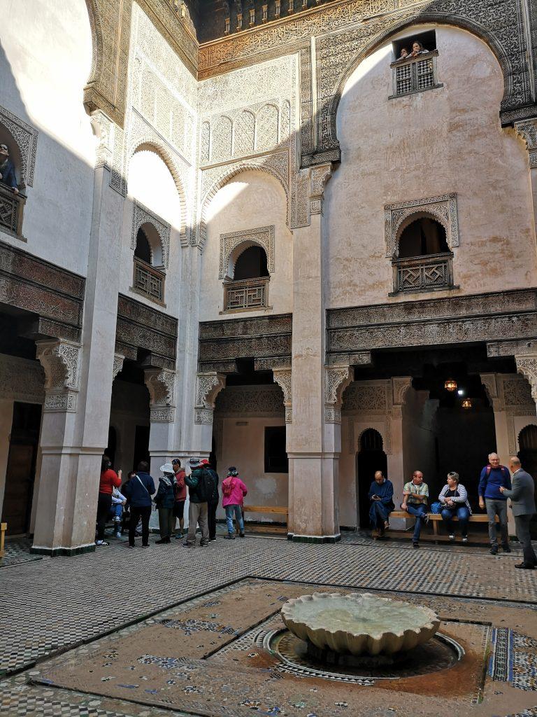 Travel Guide Fez - Al Attarine Madrasa