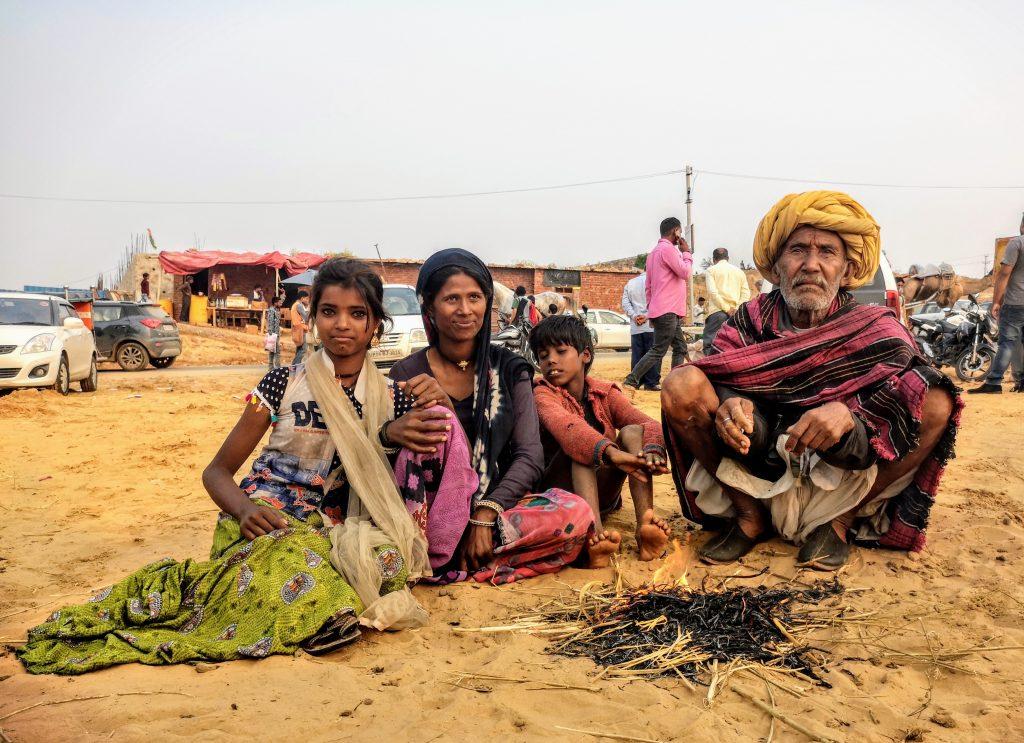 kamelenmarkt Pushkar, Rajasthan - India