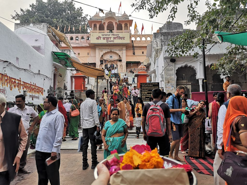 Brahmaji Tempel in Pushkar
