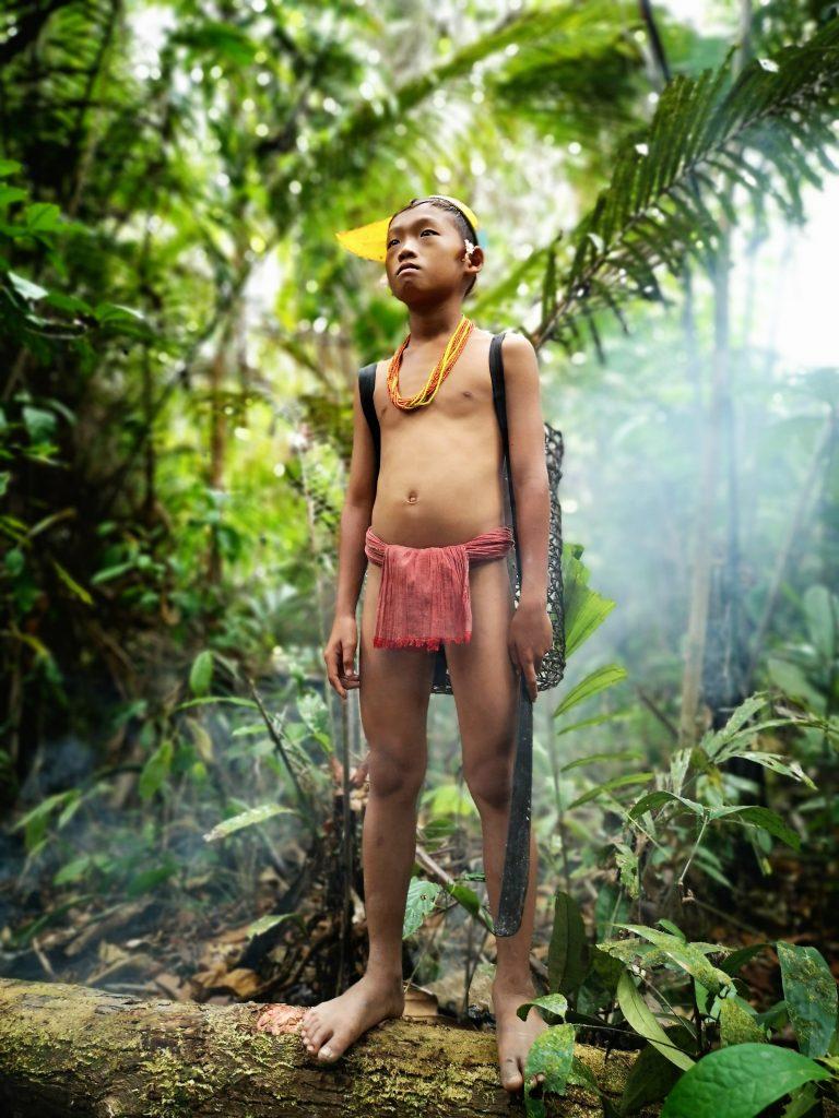 Mentawai fotosessie neefjes