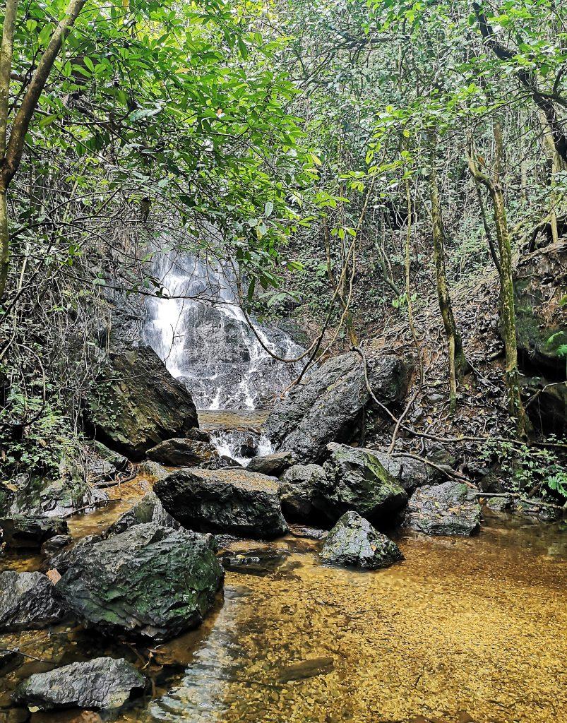 Waterfall as last challenge - Harau Valley