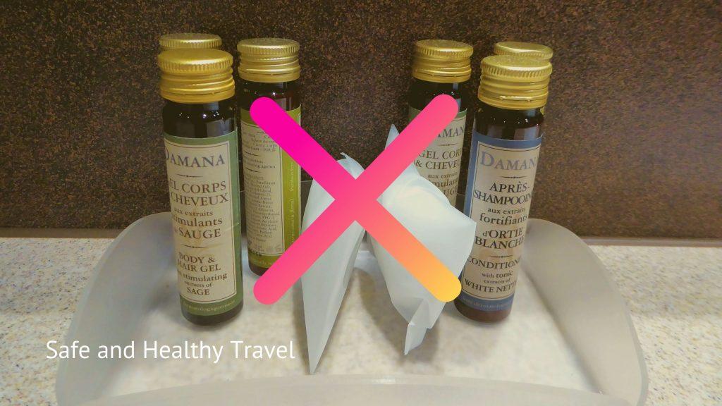 Duurzaam Reizen Is Hot - Shampoo in Hotels