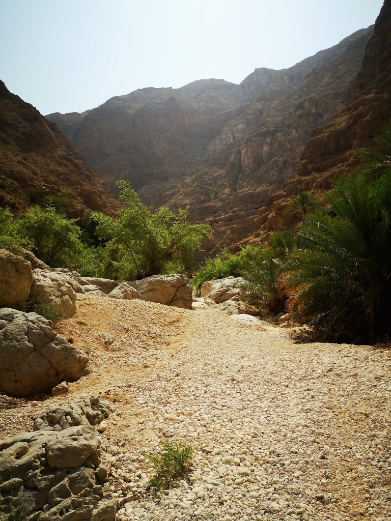 The colours of the Wadi Shab - Sur, Oman