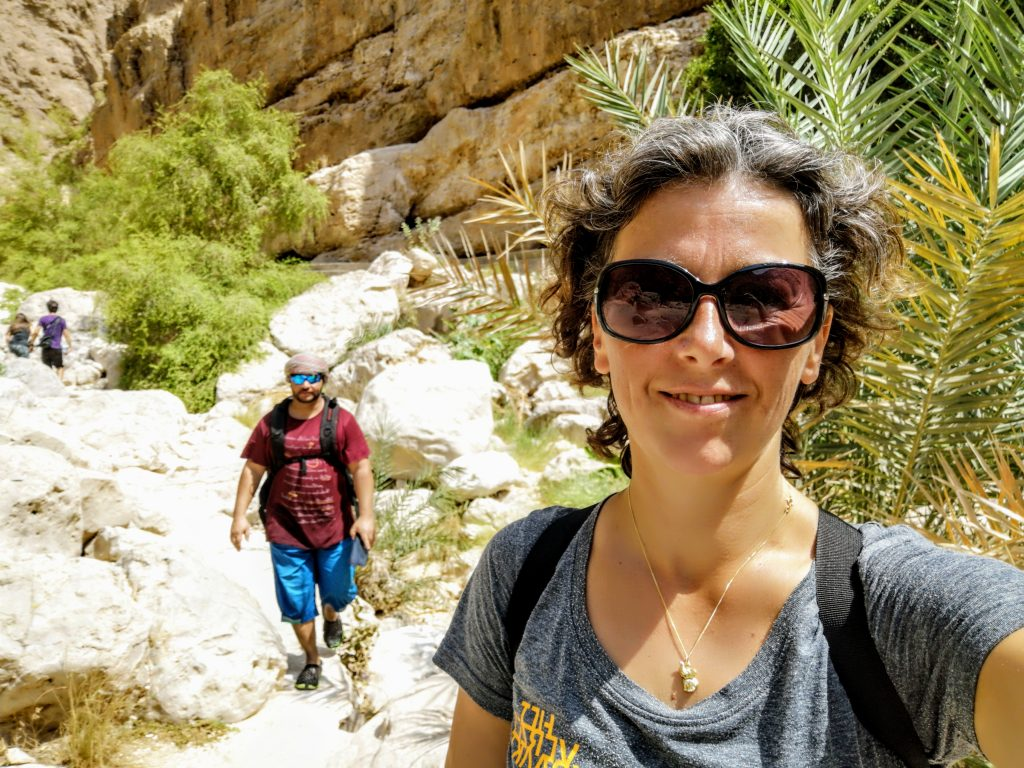 Abdullah van Blue Skies of Oman en ik