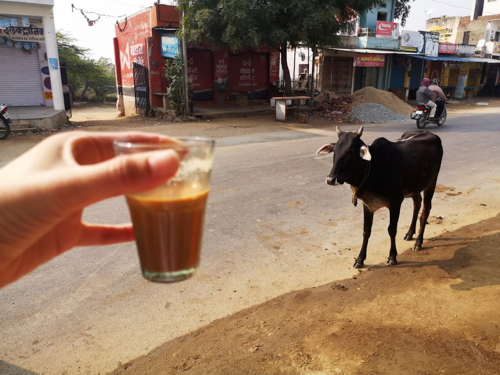 Travelling in India is always done with a stop for Chai