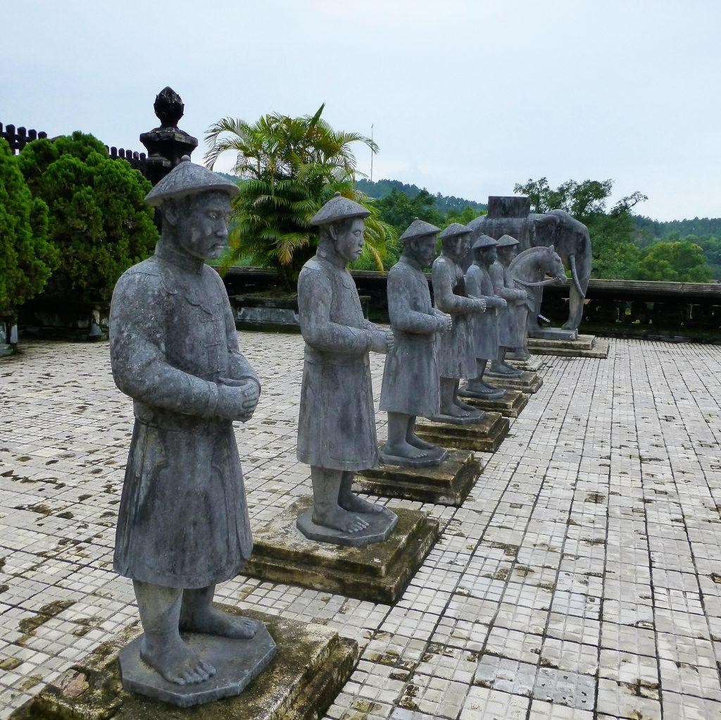 Khai Dinh graftombe, Hue Vietnam