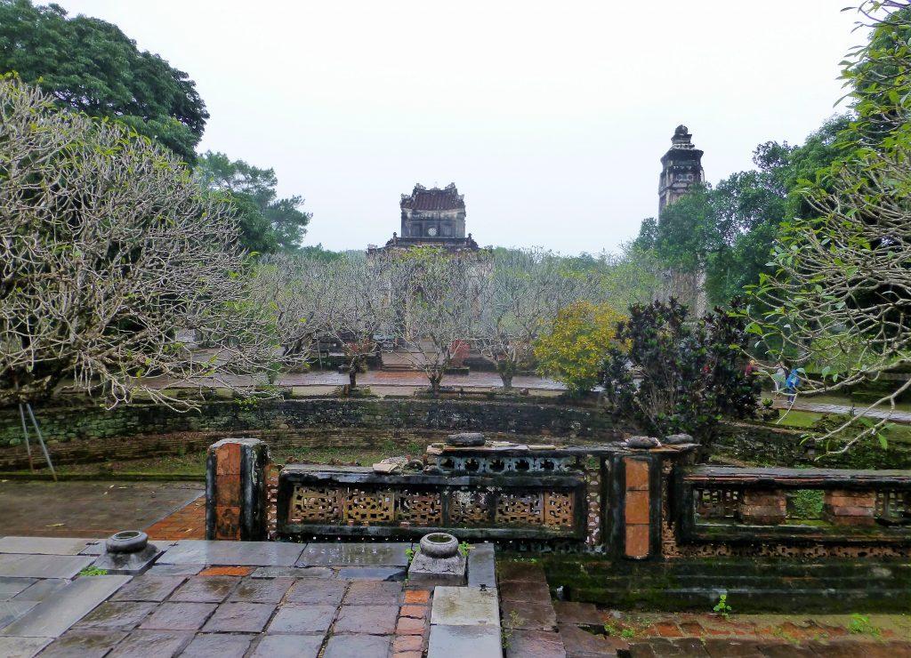 Tu Duc graftombe, Hue Vietnam