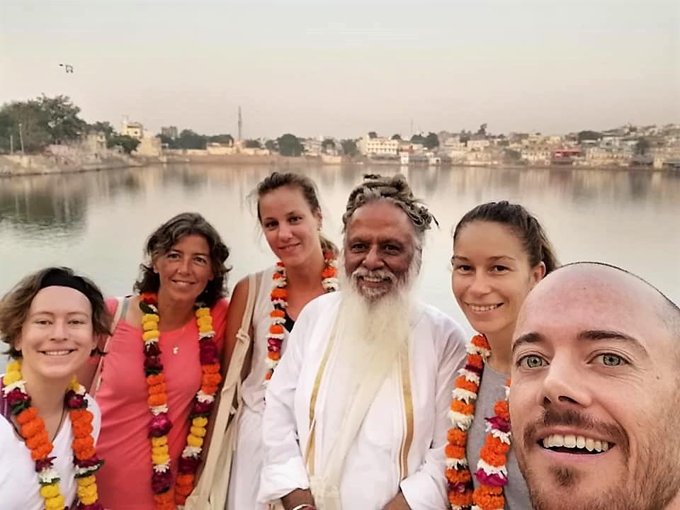 3 weeks in a Yoga ashram - 200 RYT in Pushkar, India
