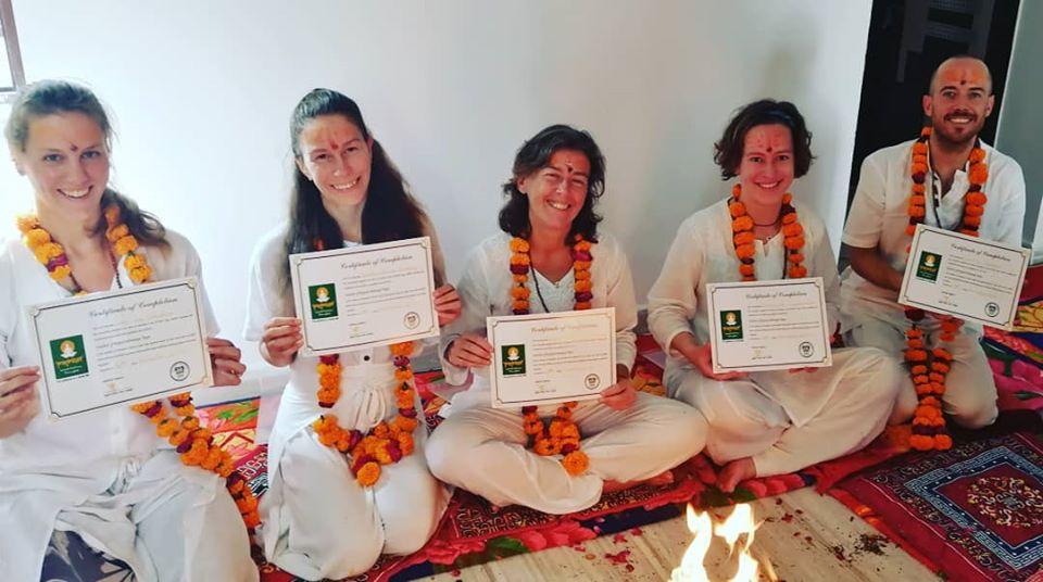 200 RYT yoga course in Pushkar