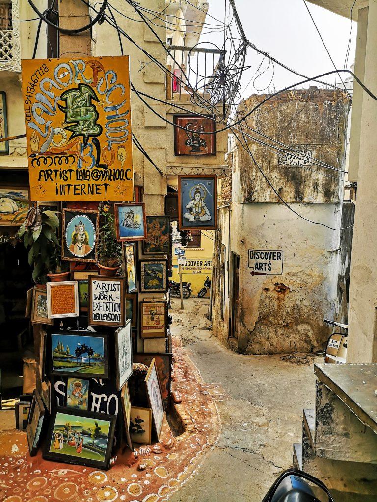 Streets of Udaipur - Rajasthan, India