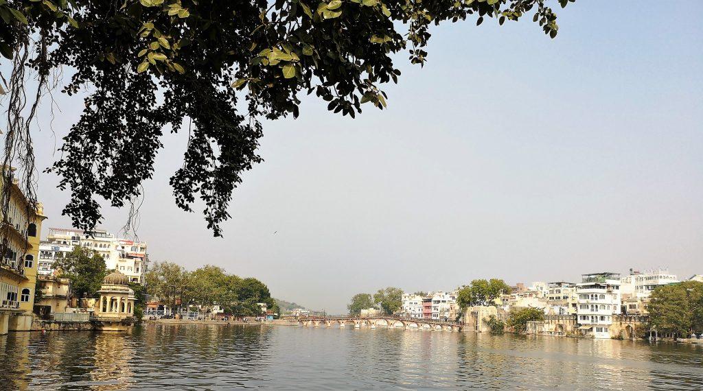 Pichola meer - Udaipur - Rajasthan, india