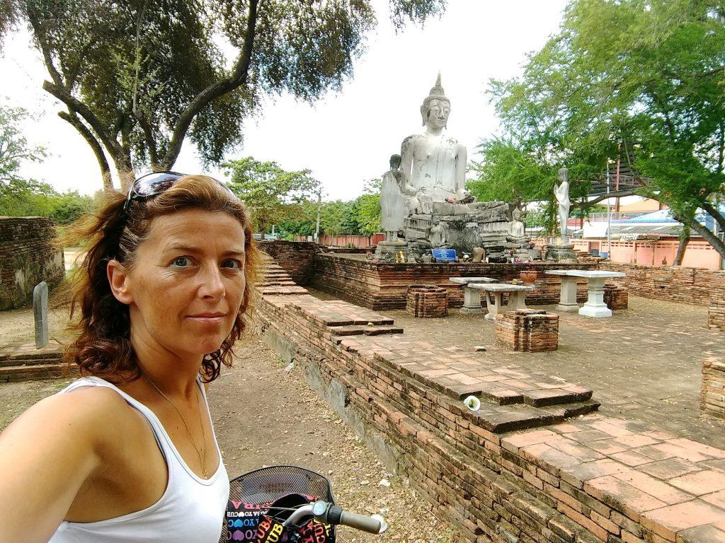 Fietsen tussen de tempels van Ayutthaya - Thailand