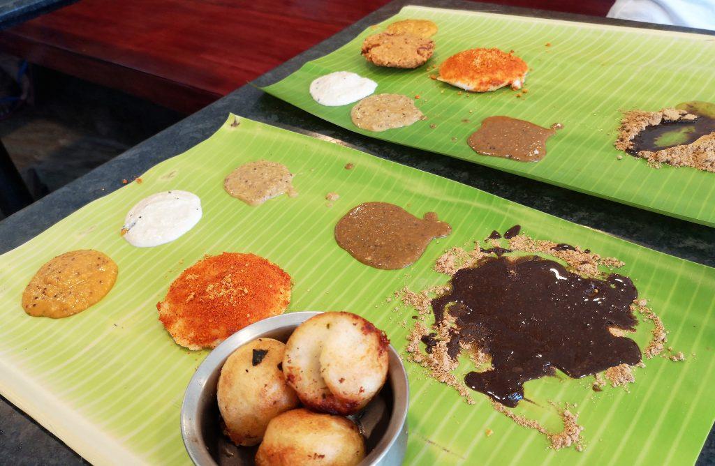 South Indian Breakfast - Idli