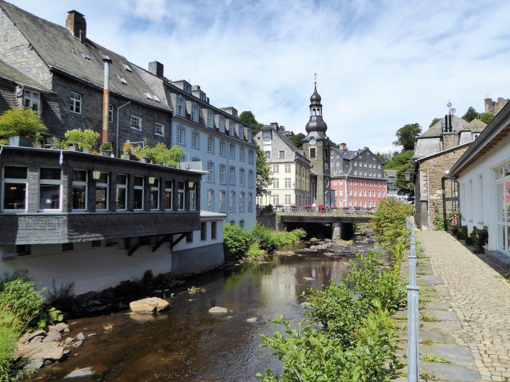 River Rur in medieval Monschau