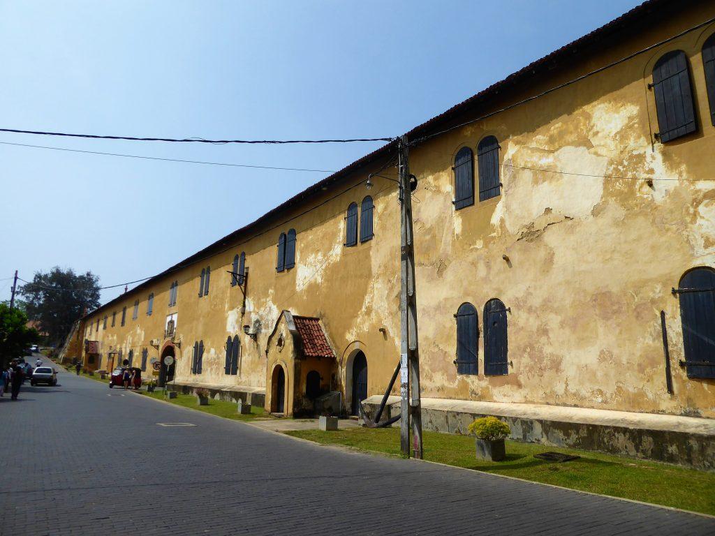 Galle bezoeken - Oude Vesting muur