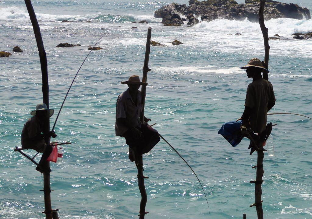 De vissers van Sri Lanka