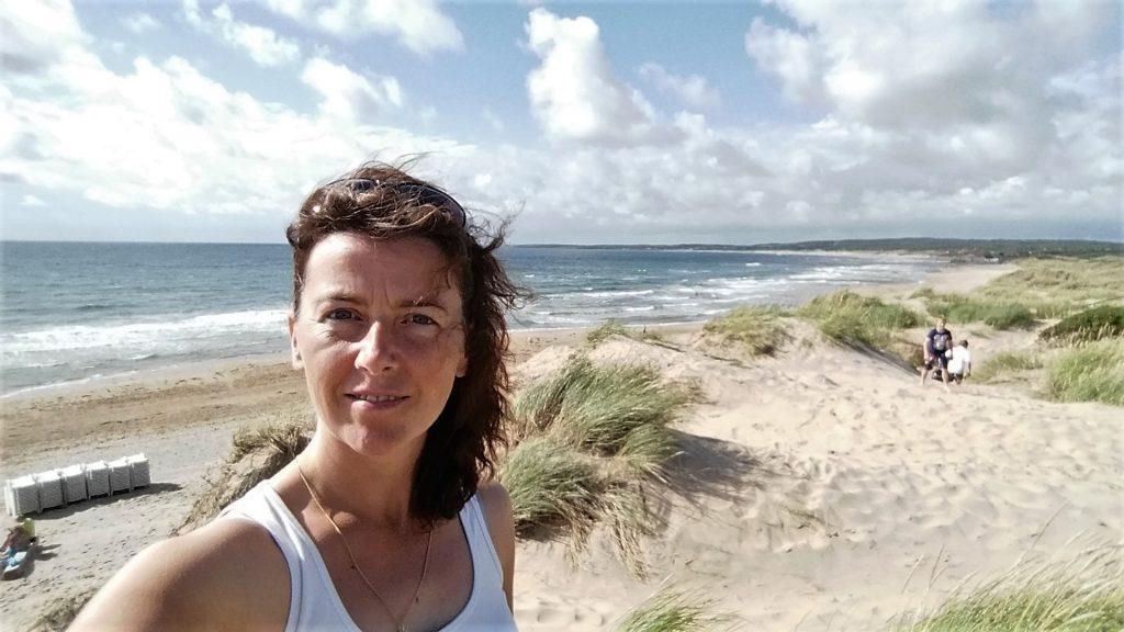 Strandwandeling Zweden