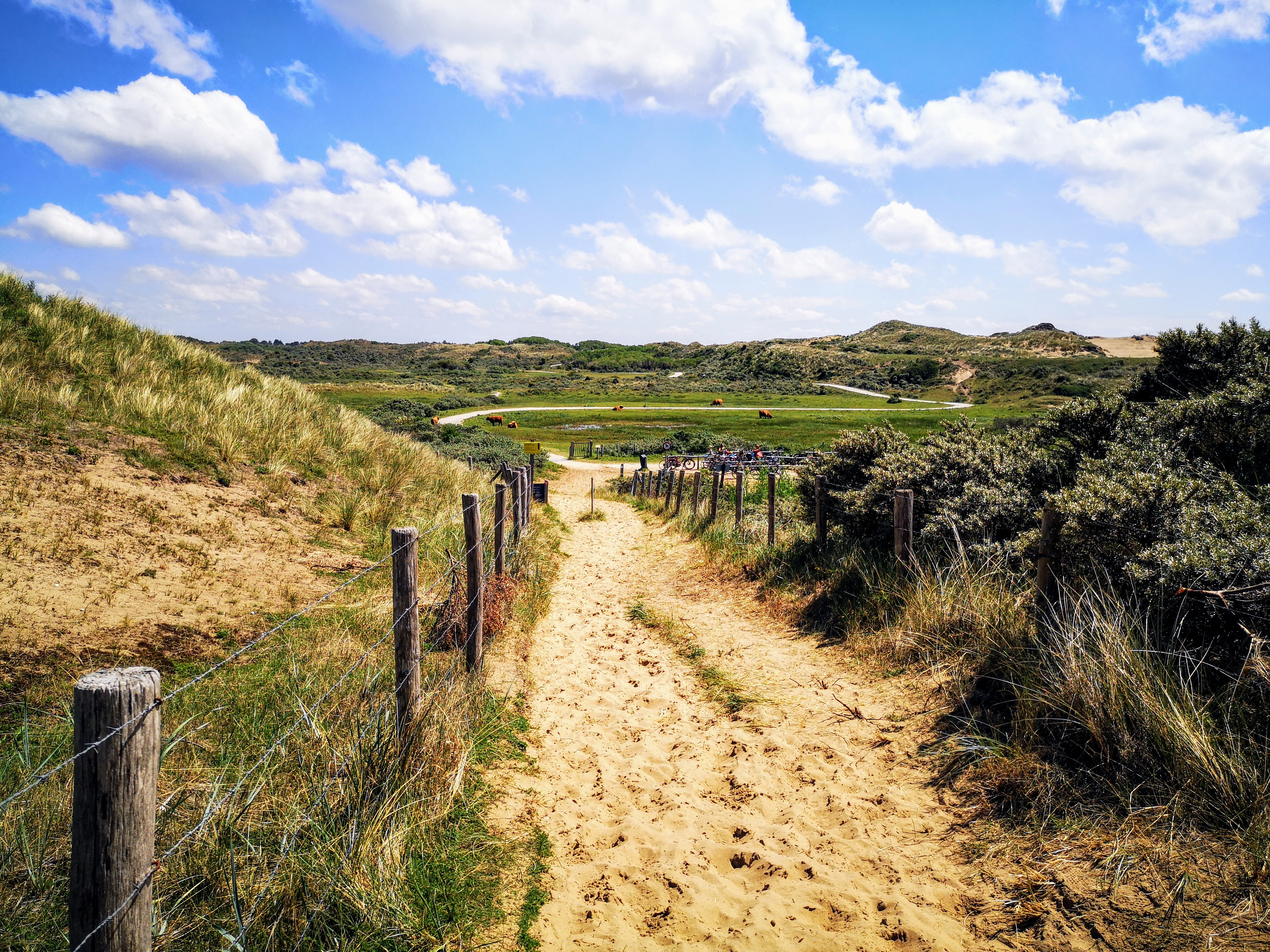 Hiking the Dutch Coastal path 2 - Long distance hiking path in The Netherlands