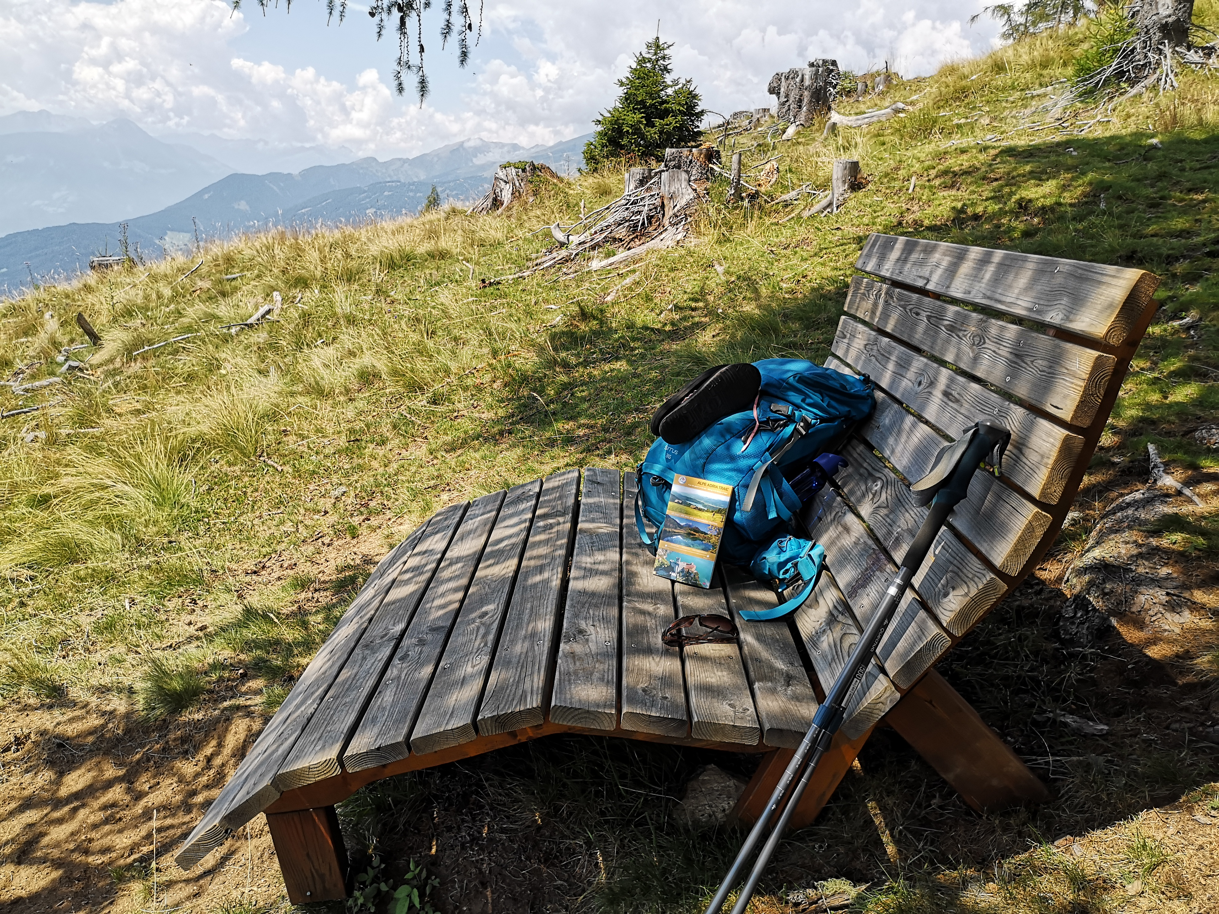 Hiking in Austria on the Alpe Adria Trail - Stage 12