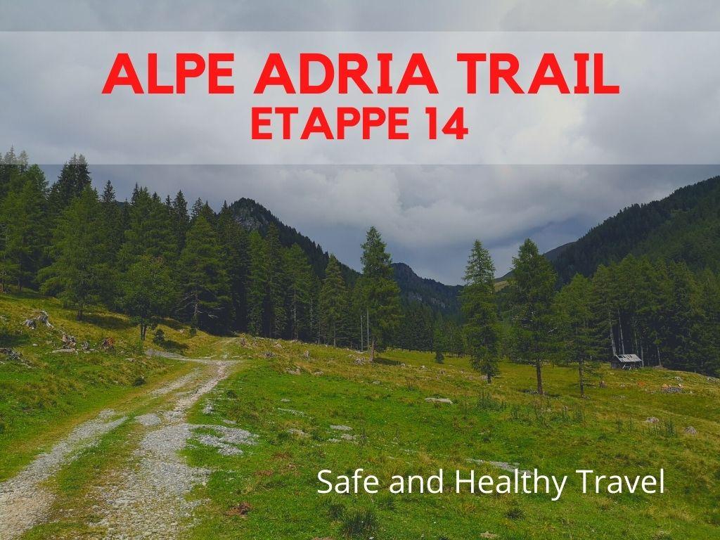 Alpe adria trail etappe