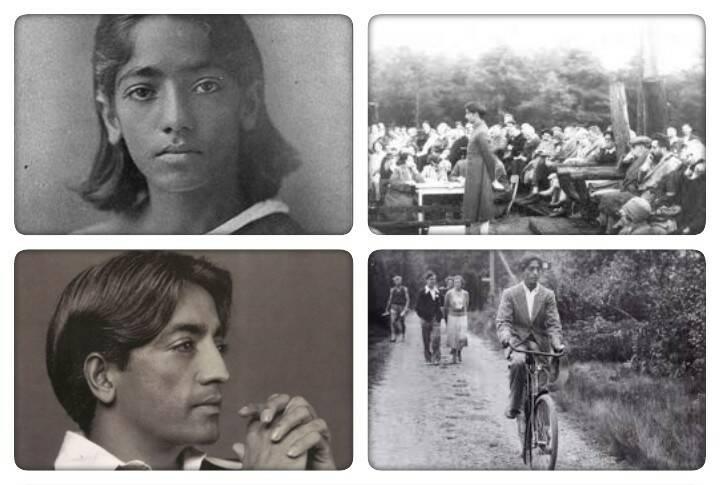 Krishnamurti old pictures