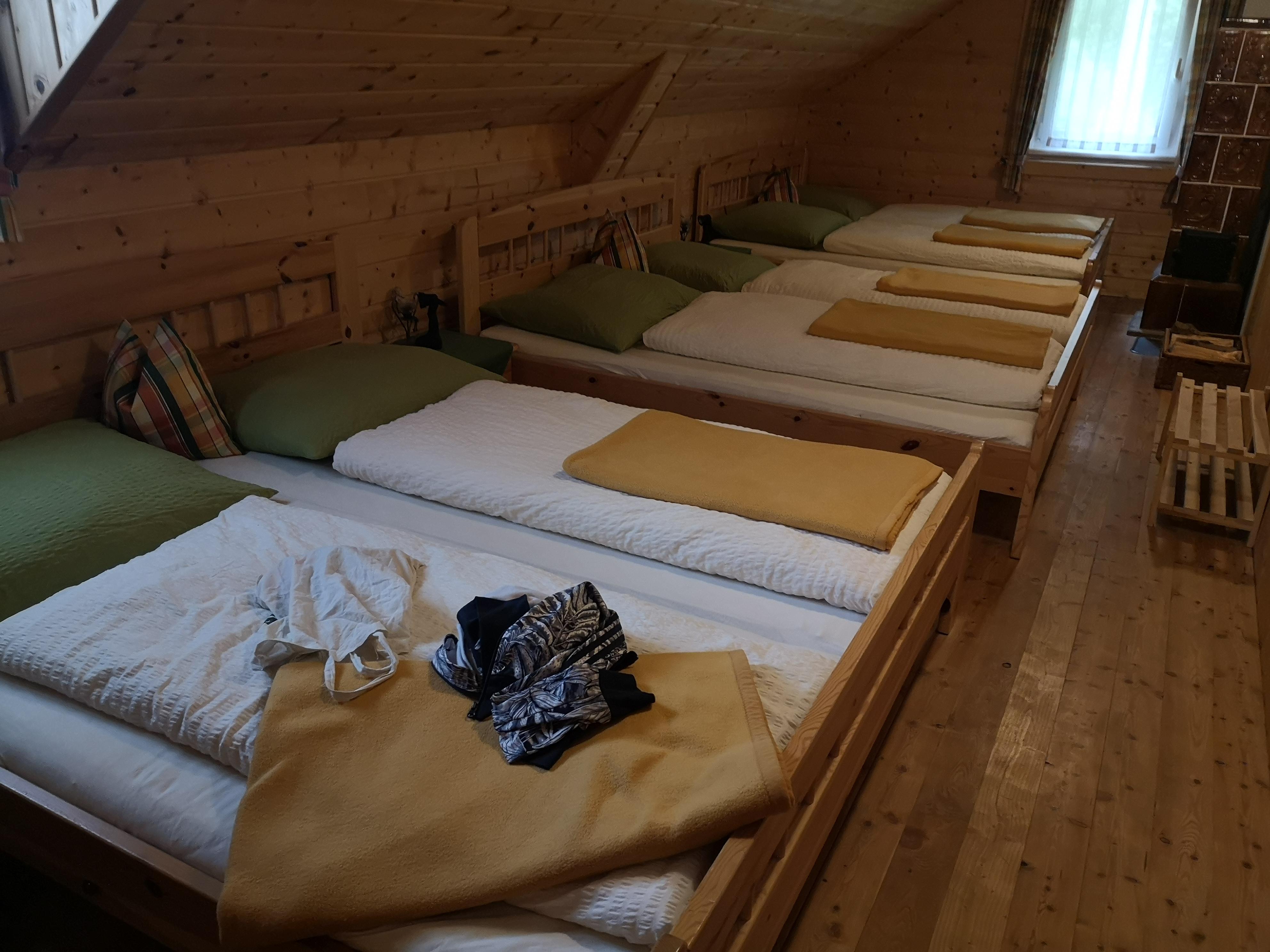 Slapen bij Falkerthaus
