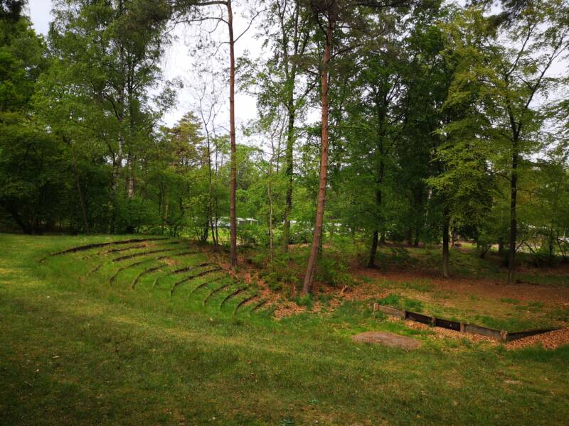 Small amphitheater of Krishnamurti in the star camps - Ommen