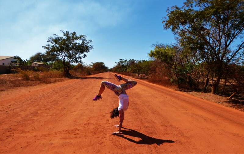 Yoga in The Gambia