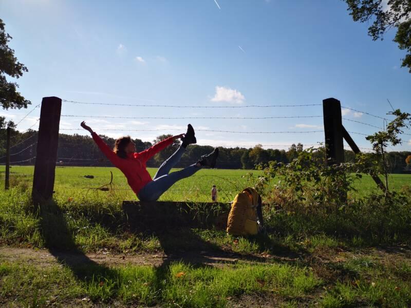 Yoga nabij Ommerschans