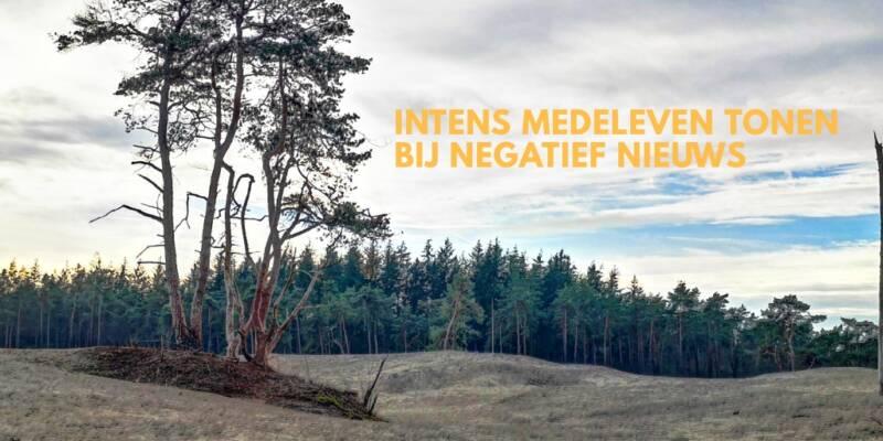 Mindful Leven - Intens Medeleven tonen bij Negatief Nieuws