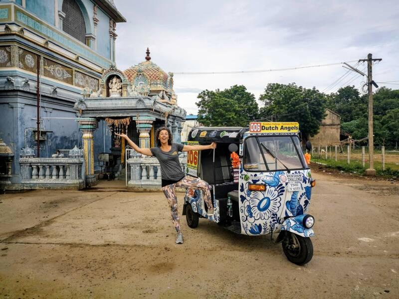 De Rickshaw Challenge in India - 1000 km zelf crossen door het Indiase verkeer!