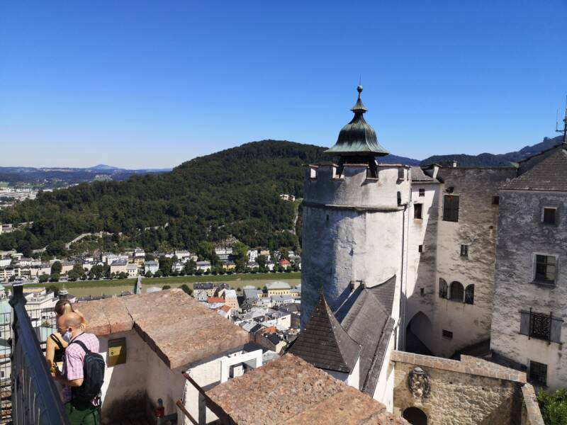 reisgids Salzburg Oostenrijk - Hohensalzburg kasteel